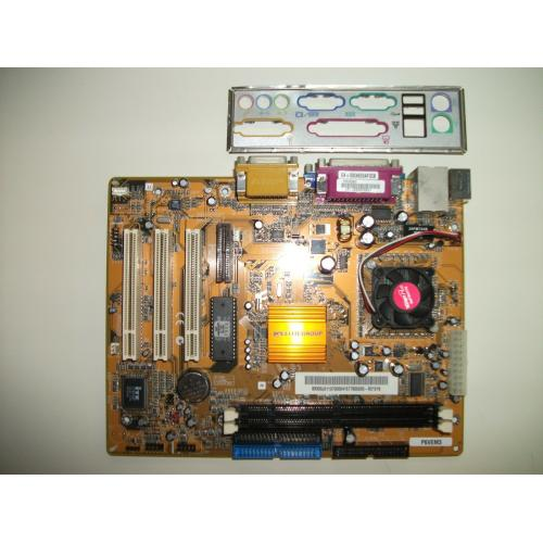 ECS EliteGroup Computer Systems Motherboard P6VEM3 w/ VIA C3 1GigaPro CPU No RAM