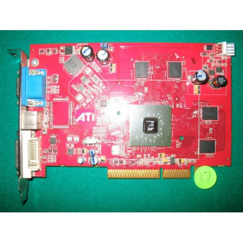 ATI X1300 Pro AGP 256MB Memory Video Card - Parts or Repair
