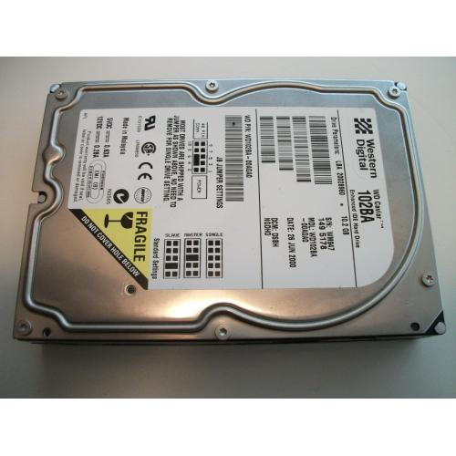 Western Digital Caviar 10.2GB Internal 7200RPM 3.5 (WD102BA) IDE HDD