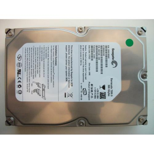 Seagate ST3500641AS Barracuda 7200.9 500GB 7200RPM SATA HDD 9BD148-520